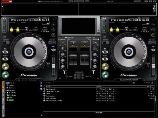 Virtual DJ – A Free Software for Mixing Songs « SofoTex Download Blog