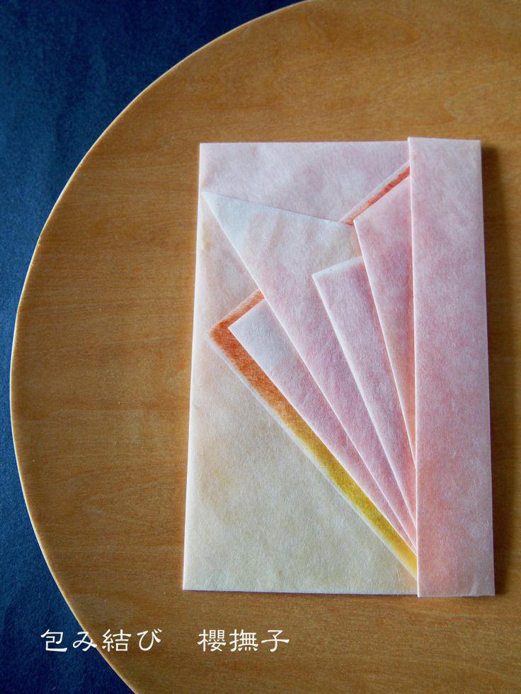 折形〜「新茶包み」と朧月、夏も近く八十八夜♪〜|包み結び 櫻撫子のブログ