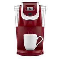 Keurig K200 Single-Serve K-Cup Pod Coffee Maker (Red)