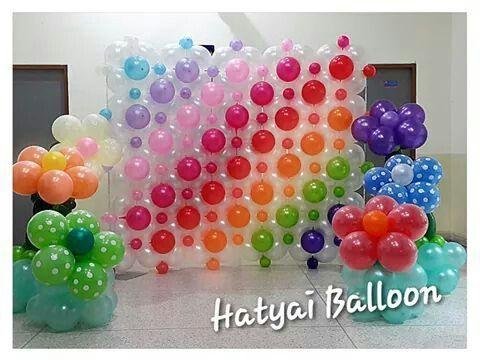 Pared de globos