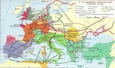 526 Migraciones y reinos pueblo barbaros