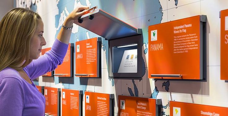 Could do something like this for an interactive exhibit