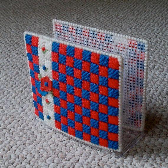236 Best Plastic Canvas Napkins Holders Images On