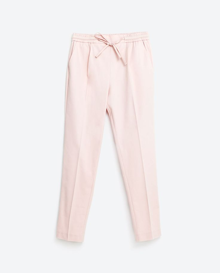 Image 8 of DARTED TROUSERS from Zara