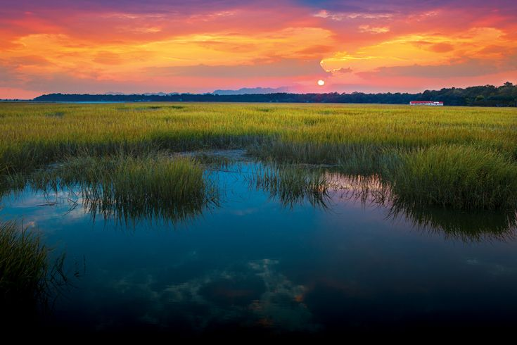 Pin Point Heritage Museum in Savannah, tucked quietly away on the banks of the Moon River…: Savannah, Islands Pin, Coast Sunsets, Georgia Coast, Gullah Culture, Point Heritage, Pin Point, Moon Rivers, Heritage Museums