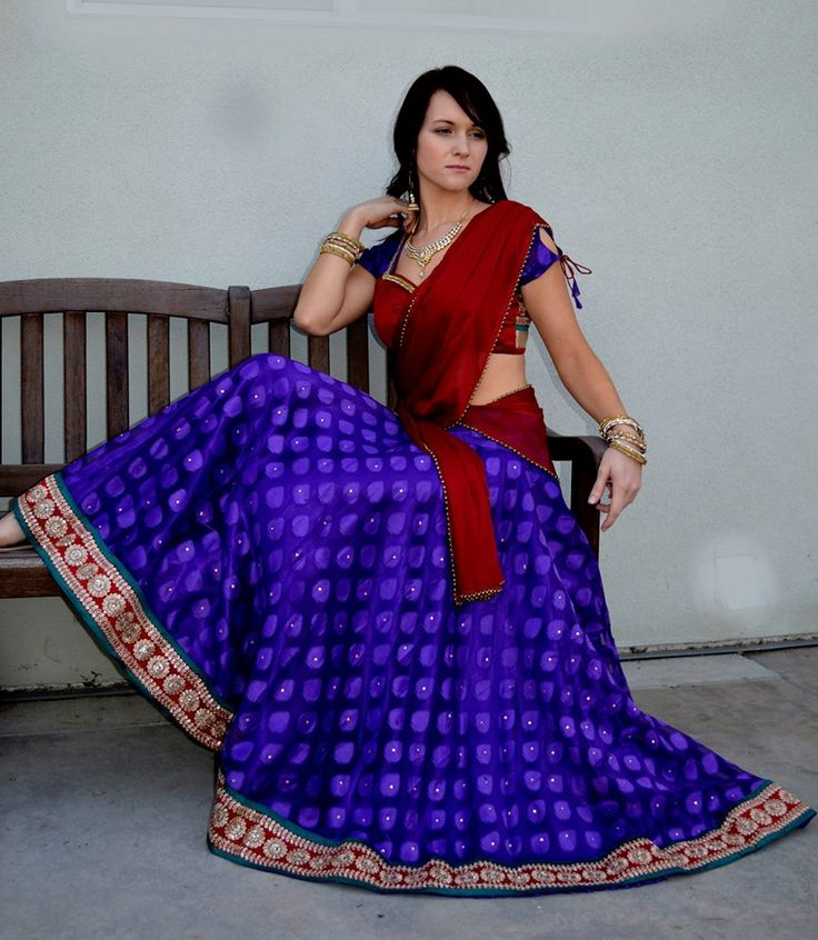ROYAL TOUCH in cotton | Dancing Gopi Skirt Outfits