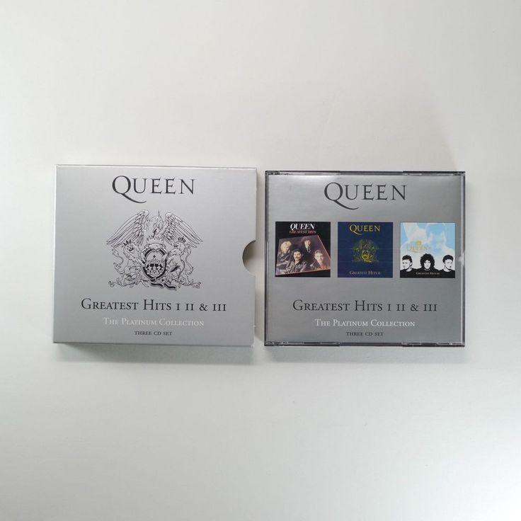 Queen - Greatest Hits I II & III [The Platinum Collection, 3CD] Freddie Mercury #ProgressiveArtRock