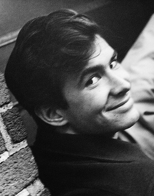 Anthony Perkins by Roddy McDowall, ca. late 1950's.