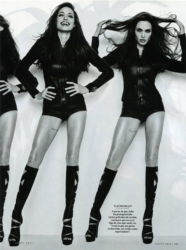 Angelina....love this shoot and that thigh tatt