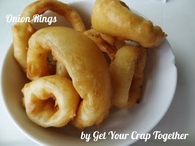 Onion Rings - Get Your Crap Together