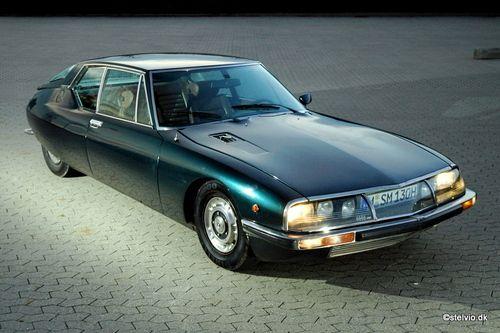 La Citroën SM est lancée en mars 1970. Elle naît de la volonté de Citroën de…