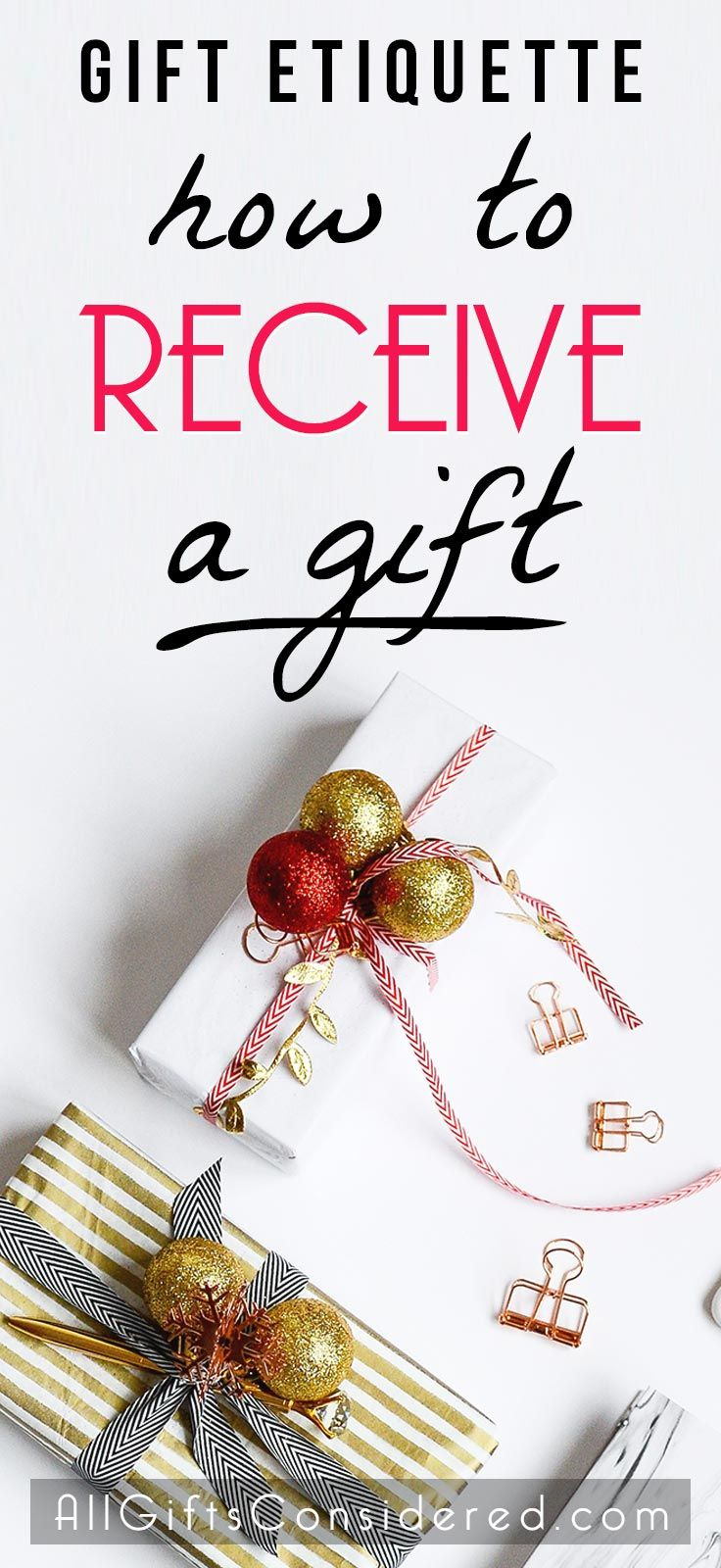 Gift Etiquette How To Receive A Gift The Right Way All Gifts Considered In 2020 Trendy Christmas Gifts Christmas Gifts For Friends All Gifts