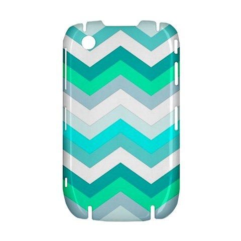 NEW Cool Chevron Pattern BlackBerry Curve 8520 9300 Hardshell Case Cover BB Curve 8520 9300 Case - Available for other type of BB
