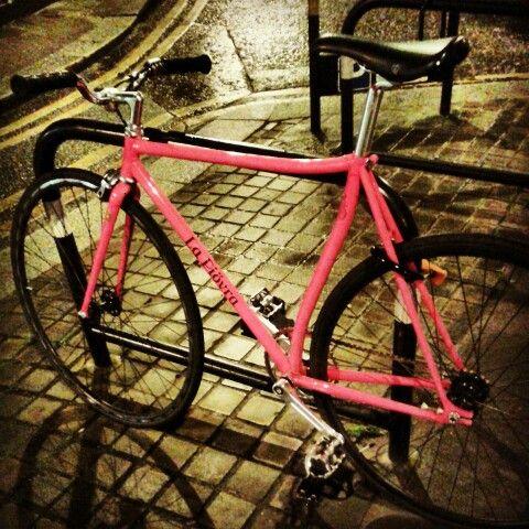 Pink fixie