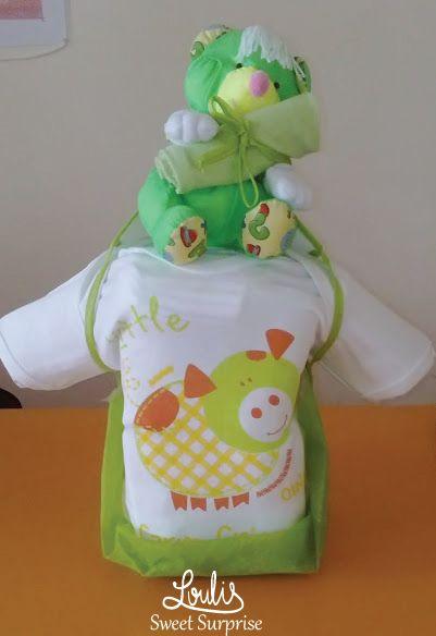 Diaper cake #Loulis_Sweet_Surprise