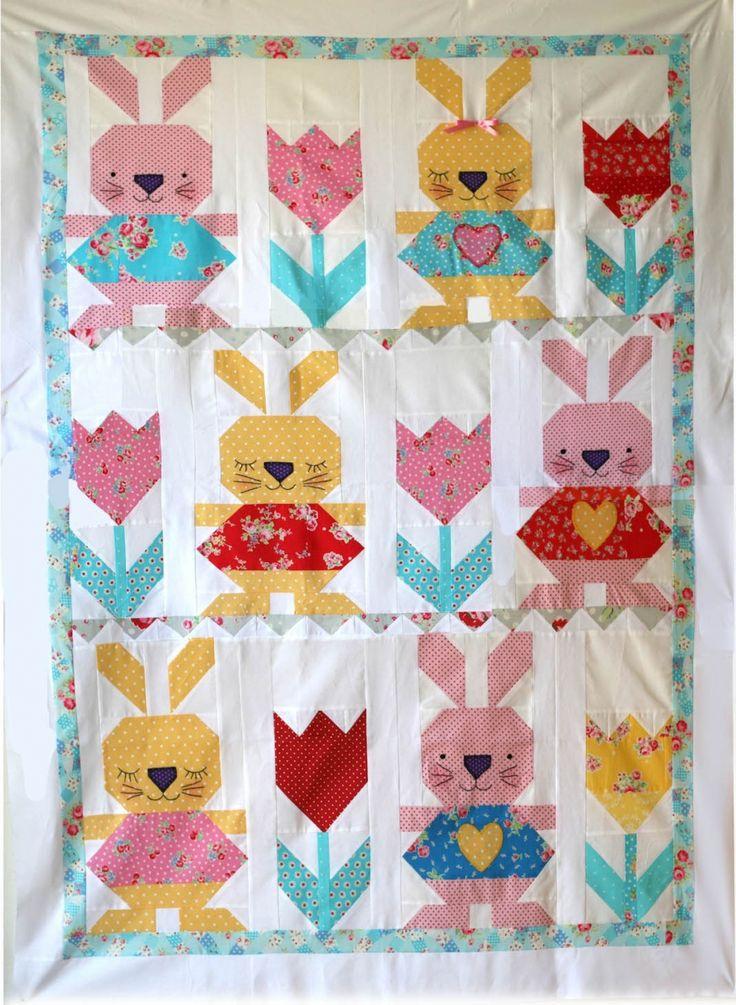 Rabbit Quilt Quilts Quilts Quilts Pinterest