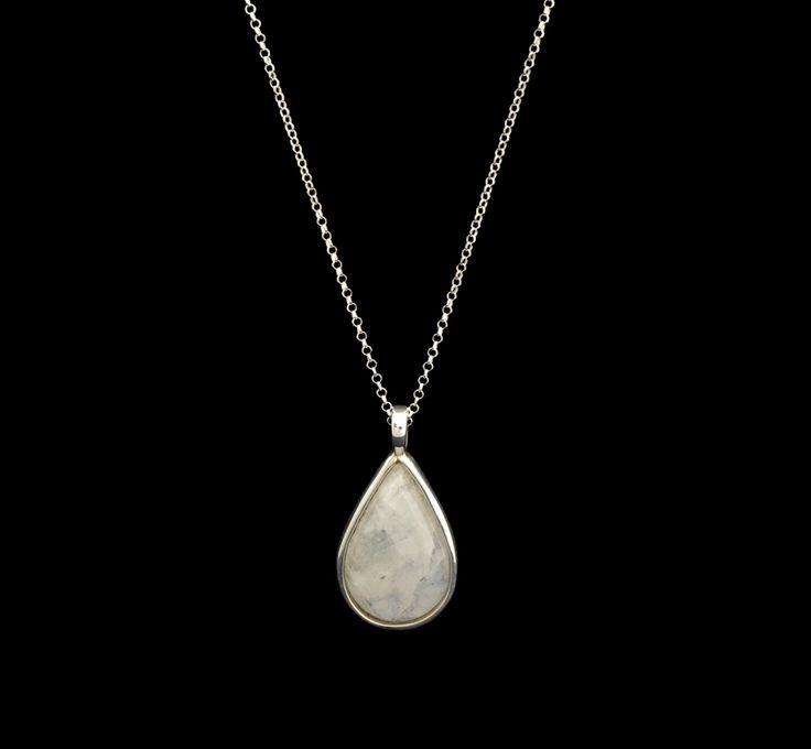 #silver #moonstone #pendant #finejewellery