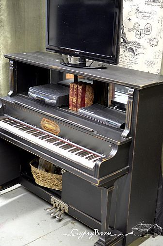 An Old Piano Repurposed