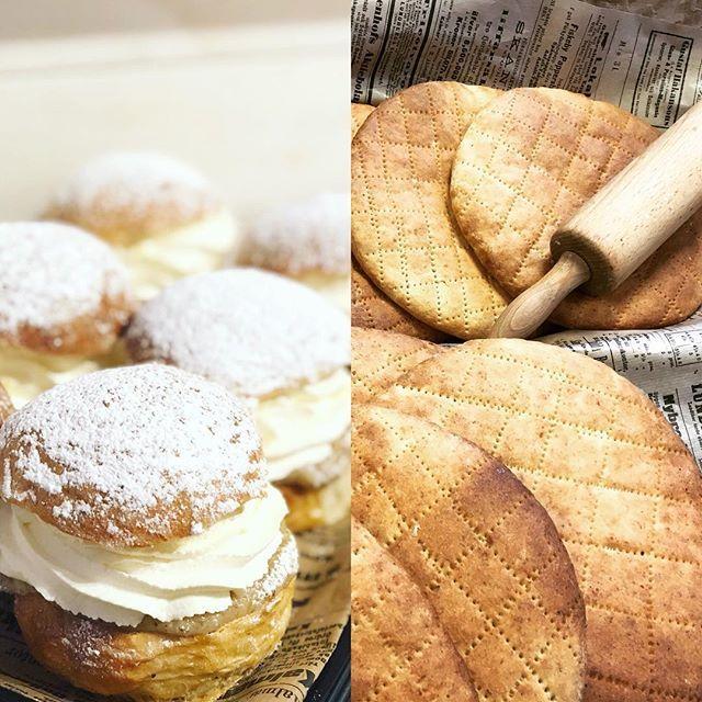 Stanna till hos sockermajas på vägen hem köp gott bröd och unna dig denna fredag en av våra semlor med hemmagjord mandelfyllning. Välkomna #semlor #bröd #kärlek