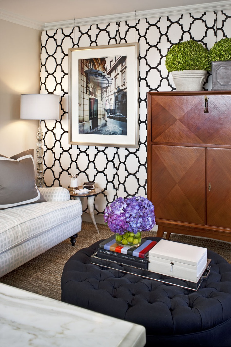 24 best wallpaper images on pinterest trellis wallpaper my husband is amazing we were discussing the nursery s accent wall and he suggested bold wallpaperwallpaper ideasgraphic