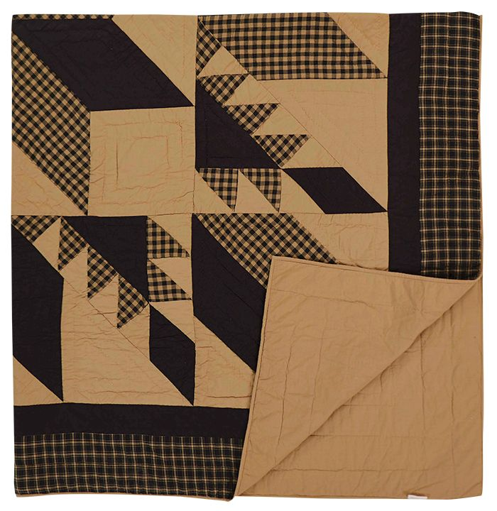 KP Creek Gifts - Dakota Star Queen Quilt