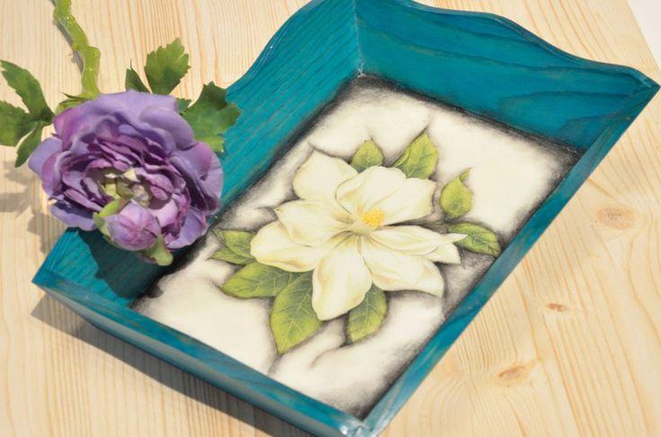 Taca Flower w Pracownia NieZapominajka na DaWanda.com