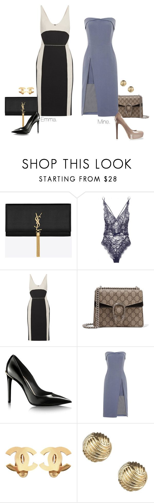 """""""'Tom & Derek' Madrid Photocall."""" by foreverforbiddenromancefashion ❤ liked on Polyvore featuring Yves Saint Laurent, Agent Provocateur, Narciso Rodriguez, Gucci, Topshop, Chanel and Sperry"""
