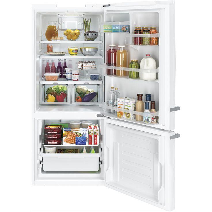 GE Artistry Series 20.9 cu. ft. Single Door Bottom Freezer Refrigerator - Efficient and Convenient