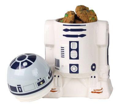 Kakburk som föreställer R2-D2 från Star Wars! Från Coolstuff i Sverige.