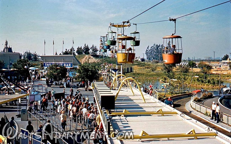 Today in Disneyland history: November 10, 1994 – the Skyway closed ... I remember it well ...