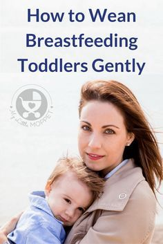Toddlers are more set in their ways, which makes weaning them harder! Check out this guide on how to wean a breastfeeding toddler gently.