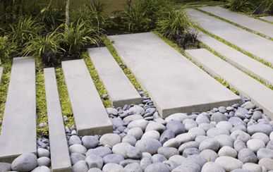 1000 images about white pebbles on pinterest gardens for Surface design landscape