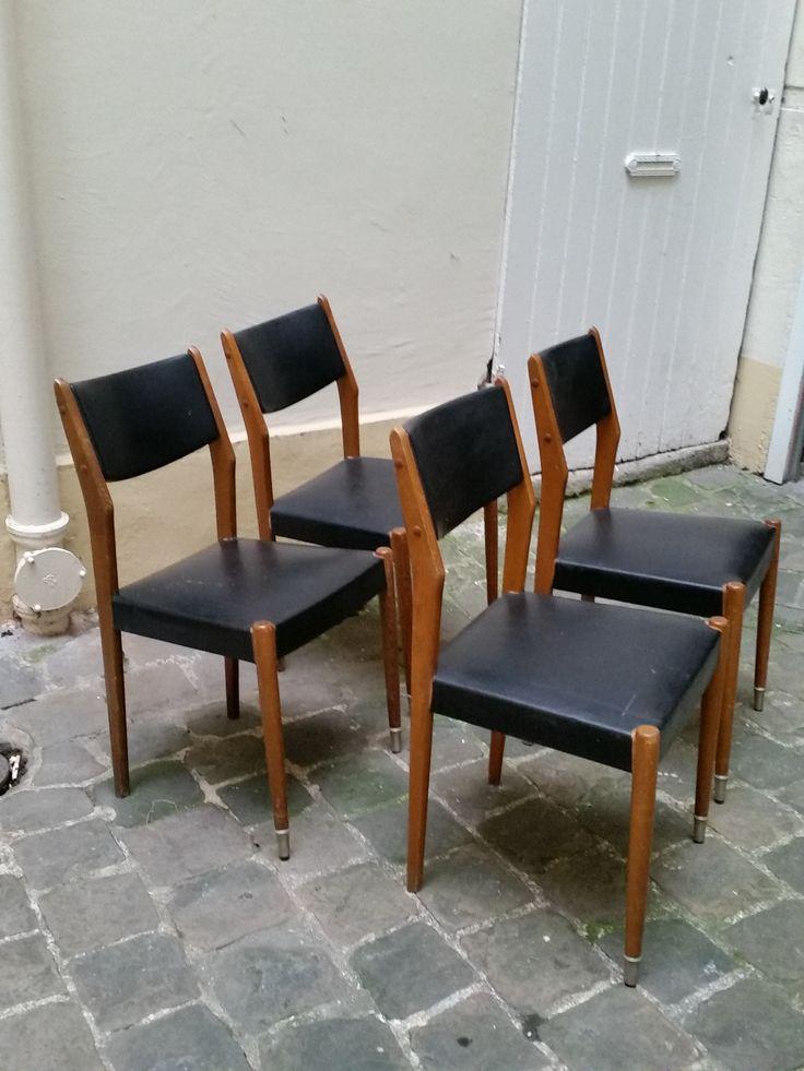 Chaises design Scandinave - 30€ l'une vues sur : https://www.facebook.com/henriechine?fref=ts