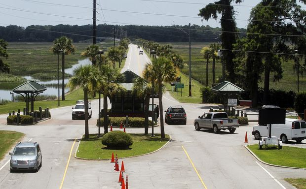 Parris Island prepares to build $9.5 million security gate | Military News | The Island Packet
