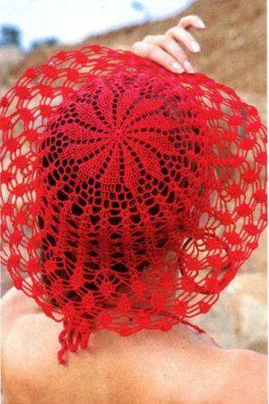 Розовая шляпа