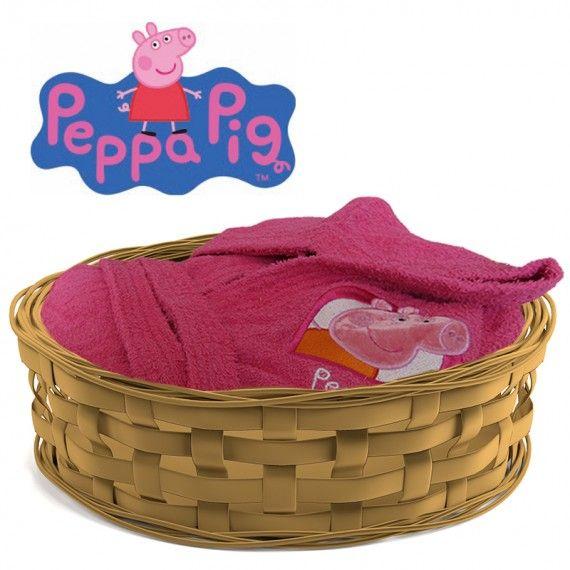 accappatoio peppa pig hearts
