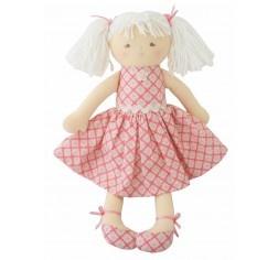 Alimrose Designs Ginny Doll Pink Medallion 34cm
