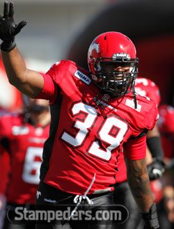 From Charleston Hughes: Thank you, fans! | Calgary Stampeders - from me - You're very welcome!