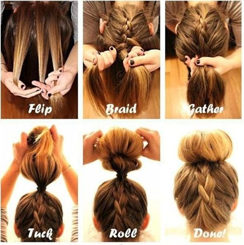 Hair Tutorial - Click image to find more hair posts and this is like soooo amazing