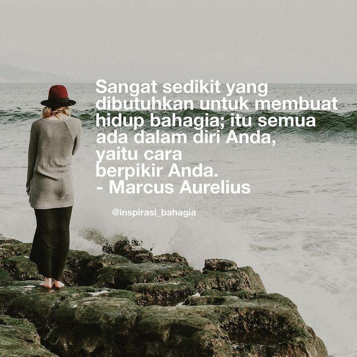 Sangat sedikit yang dibutuhkan untuk membuat hidup bahagia; itu semua ada dalam diri Anda yaitu cara berpikir Anda. - Marcus Aurelius ================== #inspirasibahagia #herihp #polapikir #caraberpikir #bahagia #kebahagiaan #KIS #kebahagiaanitusederhana #kebahagiaan #kehidupan #pikir #sederhana #kecil @inspirasi_bahagia