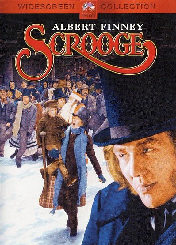 "Albert Finney as Scrooge. The best version of ""Scrooge"" ever made!"