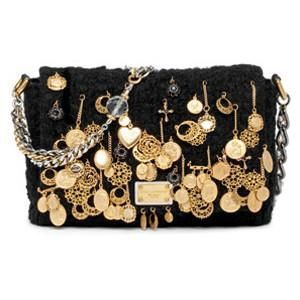 Dolce & Gabana. Crochet Charm Bag. |Pinned from PinTo for iPad| ( VIP Fashion Australia www.vipfashionaus... - international clothes shop )