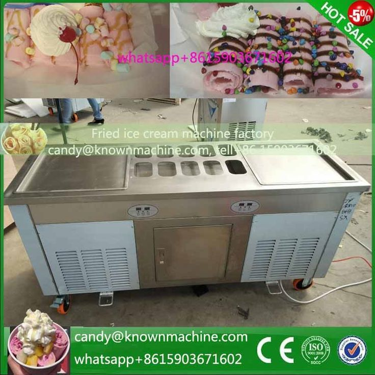 1620.00$  Watch here - http://aliy89.shopchina.info/1/go.php?t=32764401125 - Fried Ice Cream Double Pans Ice Cream Roll Machine fry Ice Cream Rolls Making with 2 pans  #SHOPPING