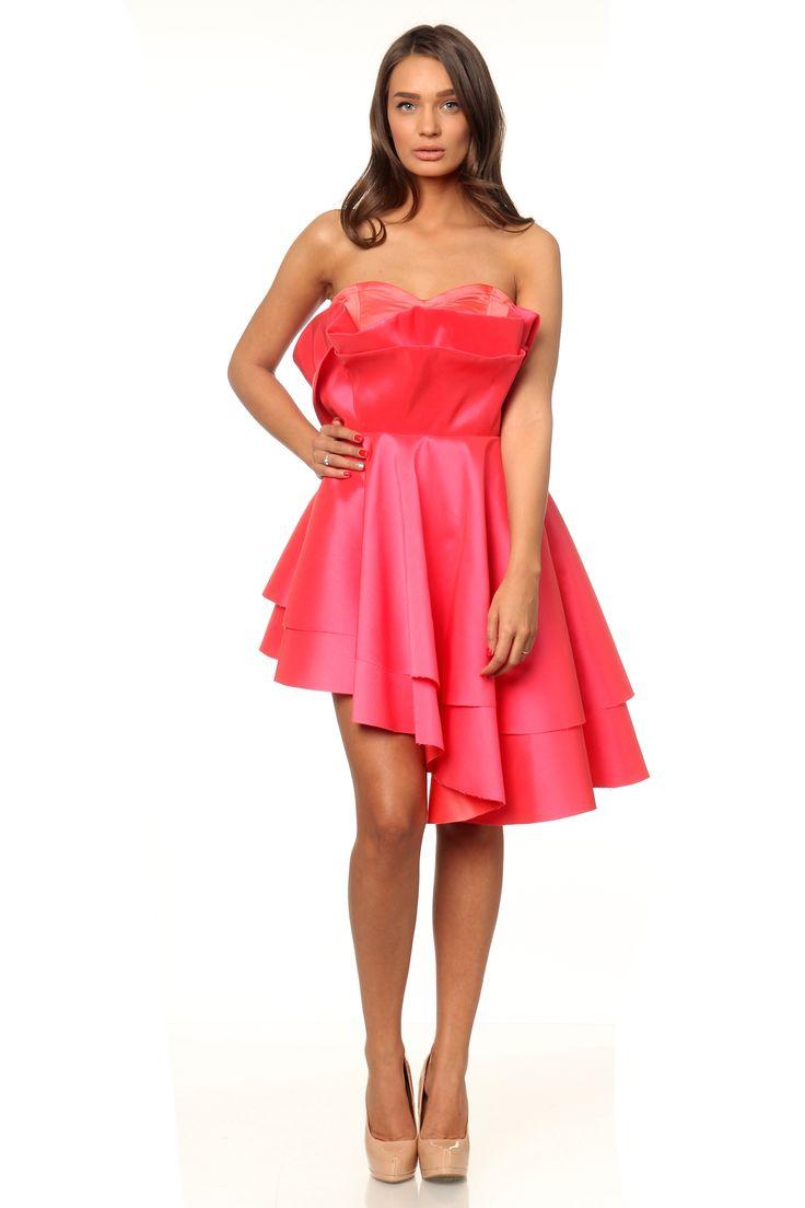 Marie Ollie coral dress - www.marieollie.com
