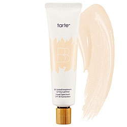 Tarte - BB Tinted Treatment 12-Hour Primer Broad Spectrum SPF 30 Sunscreen. Here you go @Sidnie DesLauriers ! You said you wanted a tinted moisturize. And I have a sample of this that I haven't opened that you can have.