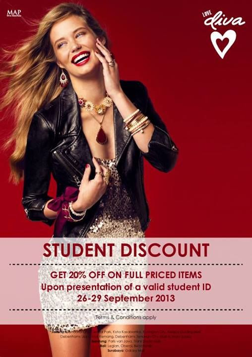 Love DIVA Weekend Special! Get 20% Off for Student!