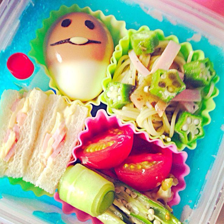 ゆみちゃん's dish photo なめこちゃんお弁当 | http://snapdish.co #SnapDish #レシピ