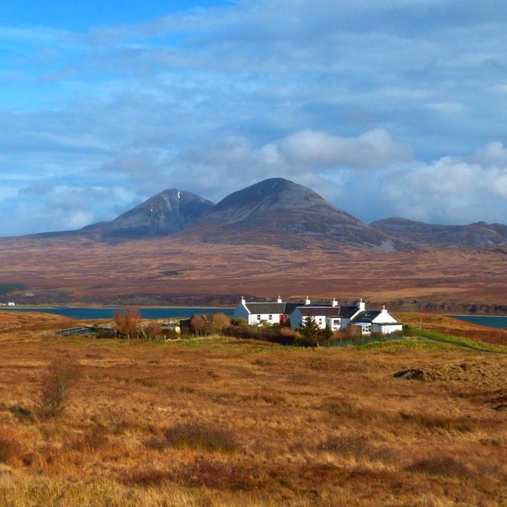 Isle of Jura with the Paps from the Isle of Islay, Scotland