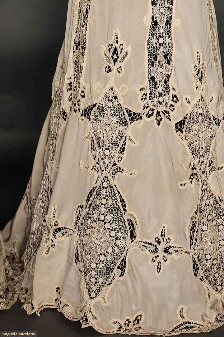 Skirts (image 6) | 1905 | lace | Augusta Auctions | April 8, 2015/Lot 85
