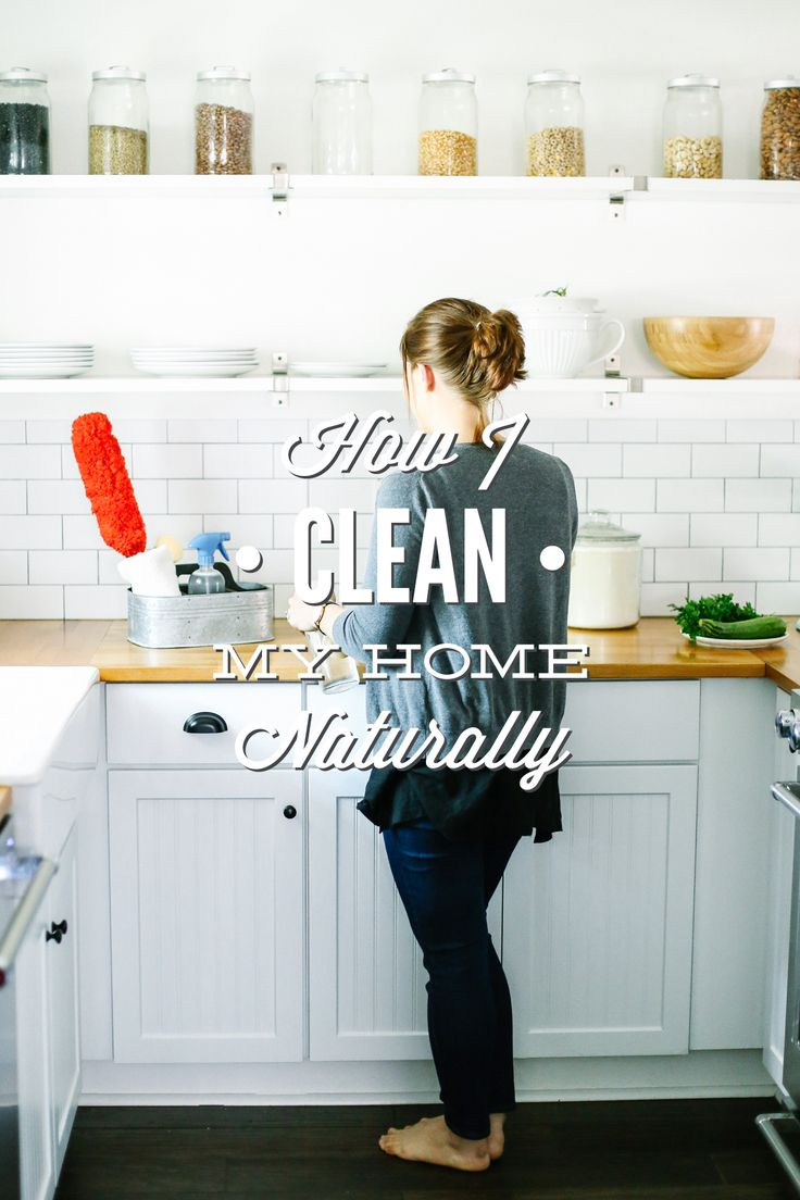 Find out how just using a few simple, all-natural ingredients can help me clean my entire home naturally!